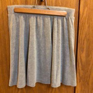 Joe B. Gray Swing Skirt M